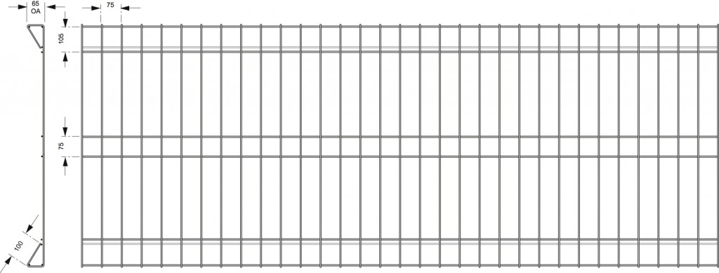 PROTECTIVE PROFENCE BANKSIA FENCING PANEL