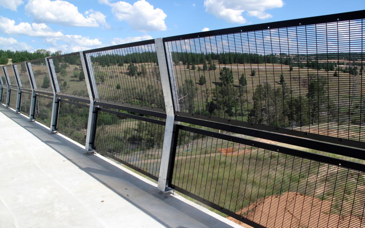 Protective Bridge Mesh Woden