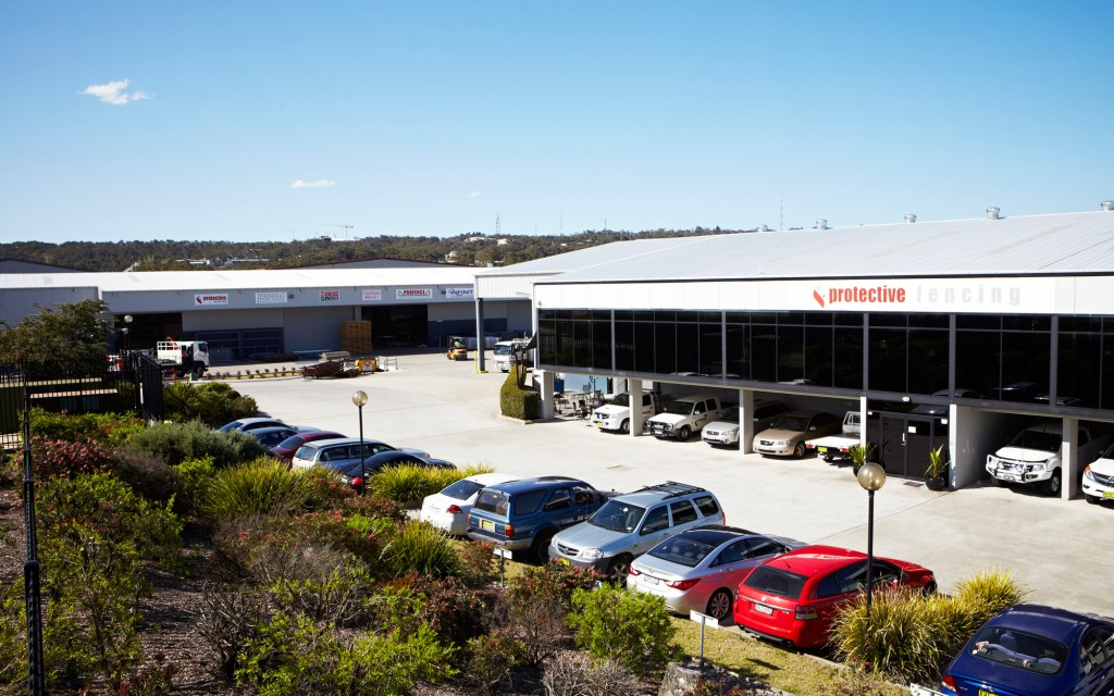 Protective Fencing Factory in Somersby, NSW