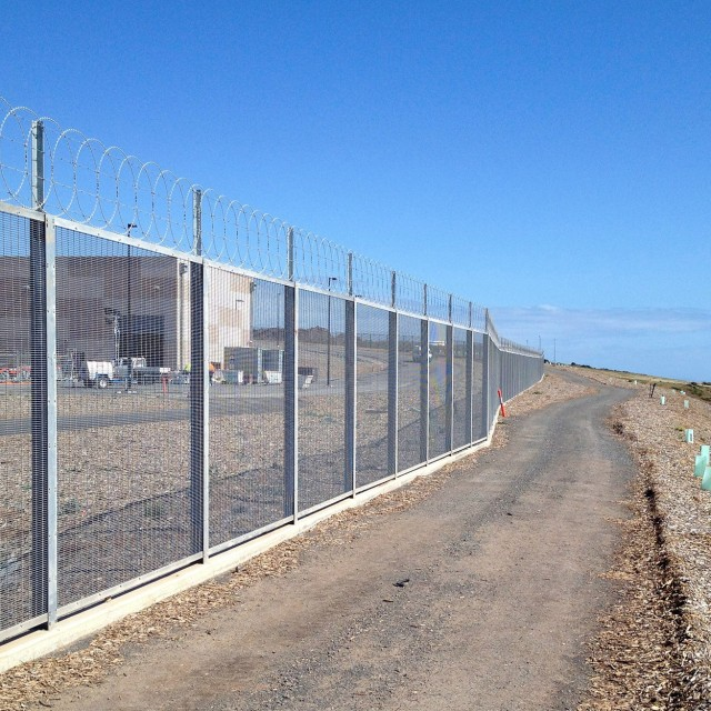 Security Fence for Desalination Plant