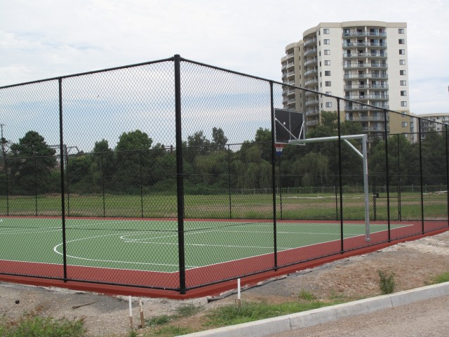 Chain wire Fencing - Basketball Court