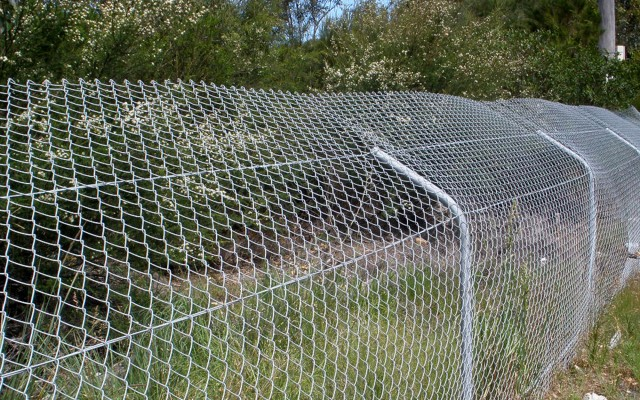 Building Our Future The Safer Chain Wire Fencing Solution