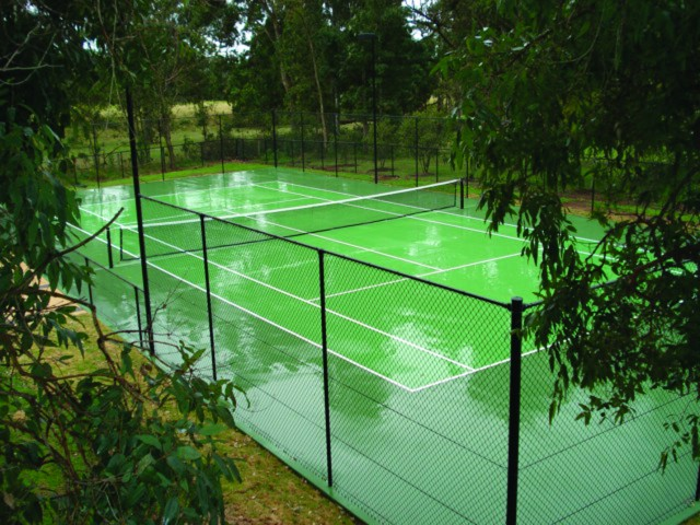Chainwire Fencing - Tennis Court