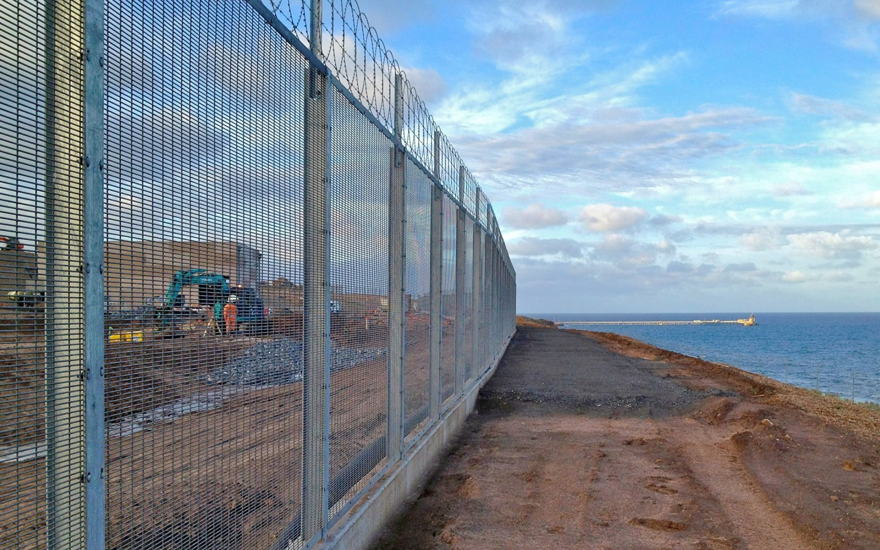 High Security Fencing: Perimeter Security Welded Wire Mesh