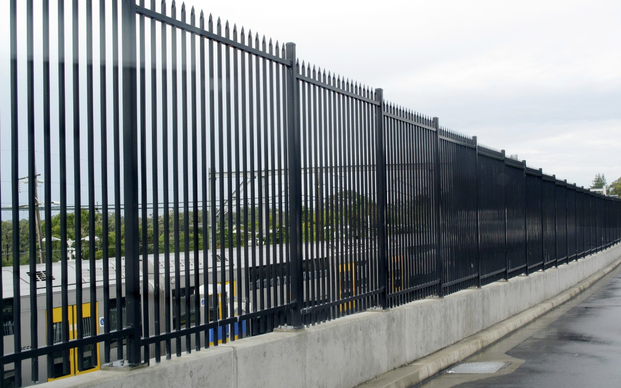 Decorative Tubular Fencing Suitable For Residential Pool