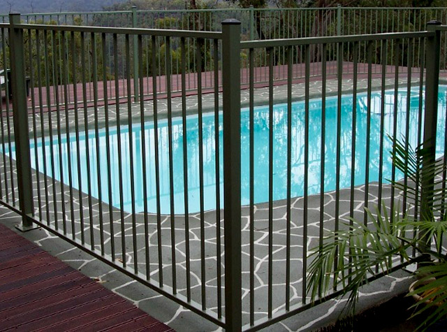 Pool Fencing Posts And Gates Pre Galvanised Powder