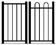 Flat Top & Loop Top Pool Fencing