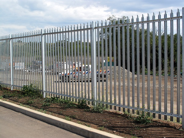 Palisade fencing high security supplies