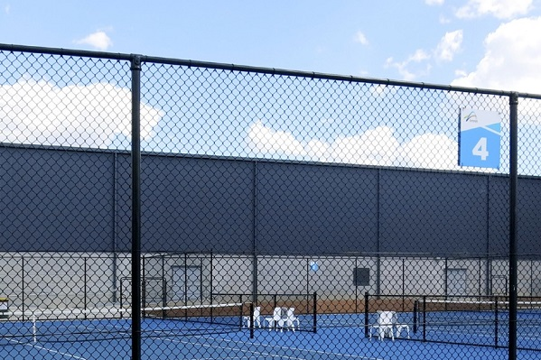 Tennis Court Wire Fencing