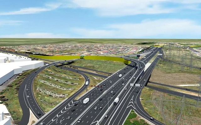358 Mesh Fence And The M80 Ring Road Roads Project Upgrade