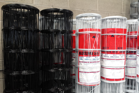 Safety Mesh Ausmesh 300 Roof Safety Galvanised And Pvc