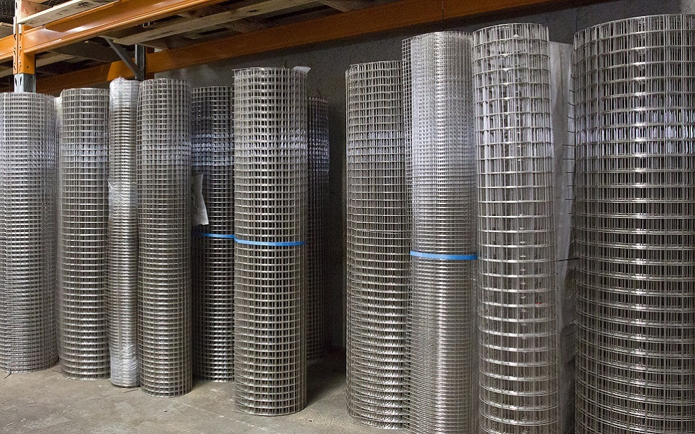Welded Wire Mesh Rolls Galvanised Stainless Steel Amp Pvc