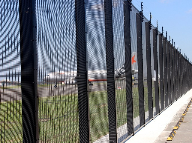 358 Mesh Security Fencing to Sydney Airport