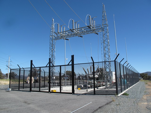 Electrical Sub-station Security Fencing