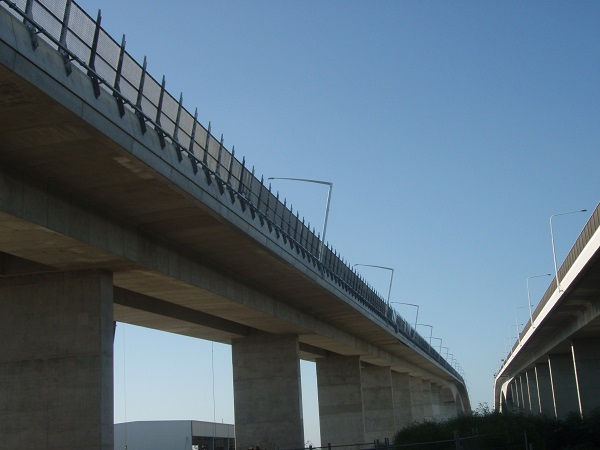 Gateway Bridge QLD Security fencing