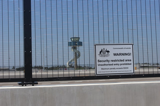 High Security Fencing to Sydney Airport