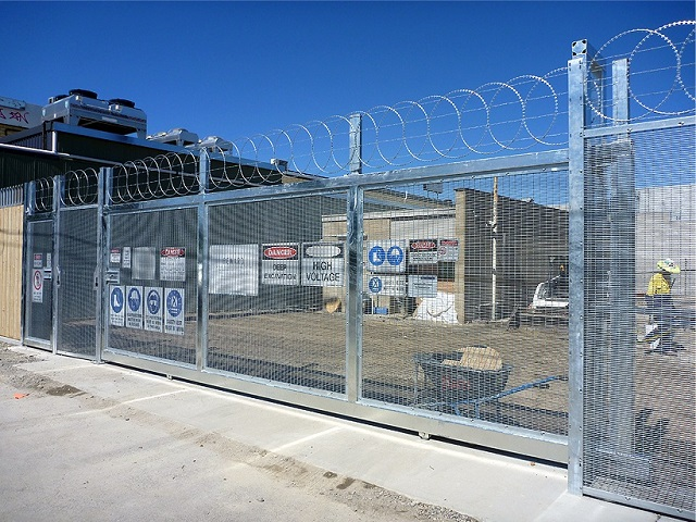 Sub-station Building Security Fencing