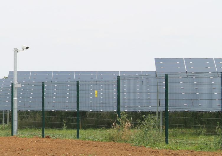 Secure perimeter fencing is an absolute priority for solar farms