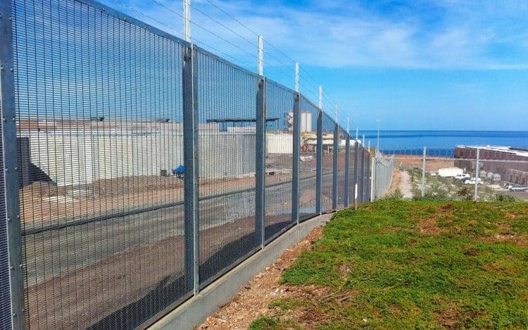 Security Fencing - Sydney Desal Plant