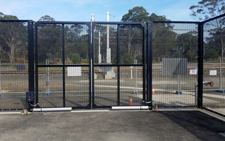 Security Gates - Protecting Rail and Infrastructure Yards