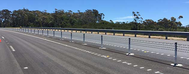 Highway RMS Safe Fencing