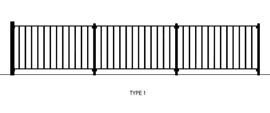 RMS Pedestrian Fence