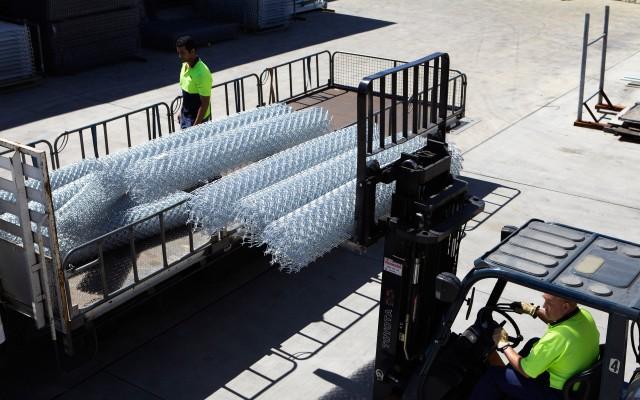 protective fencing factory delivery to Bendigo