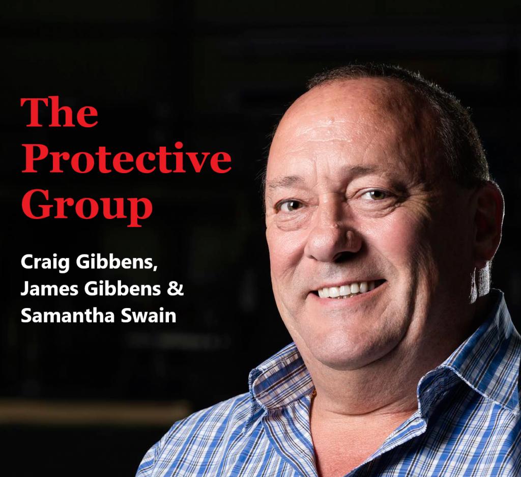 The Protective Group James Gibbens, Craig Gibbens and Samantha Swain
