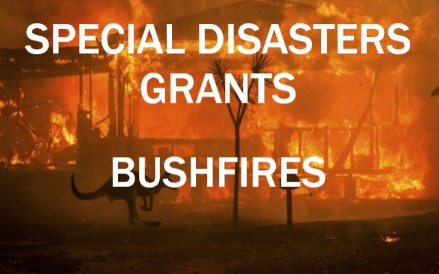 Government Grants available for Bushfire Affected Primary Producers