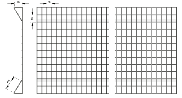 Boulevard Safety Fence - Steel mesh fencing specifications